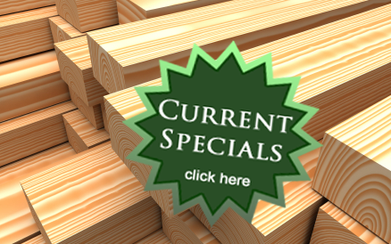 Current Lumber Specials - Click Here
